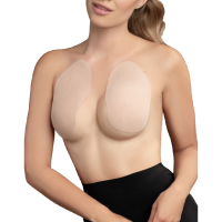 BYE BRA BREAST LIFT PADS + 3 PAIRS OF SATIN NIPPLE COVER