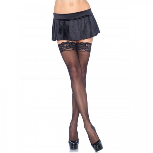 LEG AVENUE SHEER THIGH HIGHS | цена 28.57 лв.