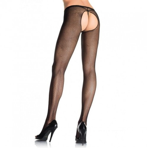 LEG AVENUE PLUS SIZE CROTCHLESS PANTYHOSE | цена 23.37 лв.