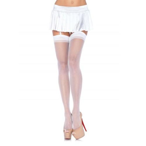 LEG AVENUE WHITE STOCKINGS | цена 15.57 лв.