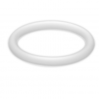 POTENZ PLUS RING MEDIUM WHITE