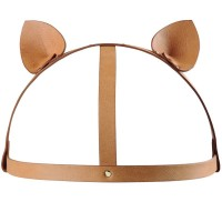 BIJOUX INDISCRETS MAZE CAT EARS HEADPIECE BROWN