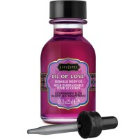 KAMASUTRA KISSABLE OIL OF LOVE FOREPLAYS RASPBERRY 22 ML
