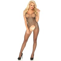 LEG AVENUE FISHNET TANK BODYSTOCKING ONE SIZE