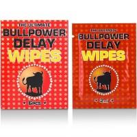 BULLPOWER DELAY WIPES ( 6 X 2 ML)