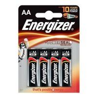 ENERGIZER ALKALINE POWER BATTERY AA LR6 *4