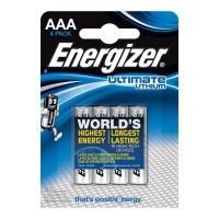 ENERGIZER ULTIMATE LITHIUM  AAA L92 LR03 1,5V *4