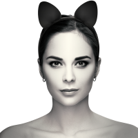 COQUETTE CHIC DESIRE HEADBAND WITH CAT EARS