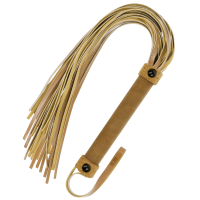FETISH SUBMISSIVE ORIGIN  FLOGGER VEGAN LEATHER