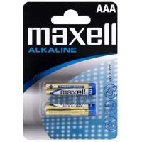 MAXELL ALKALINE BATTERY AAA LR03 BLISTER * 2